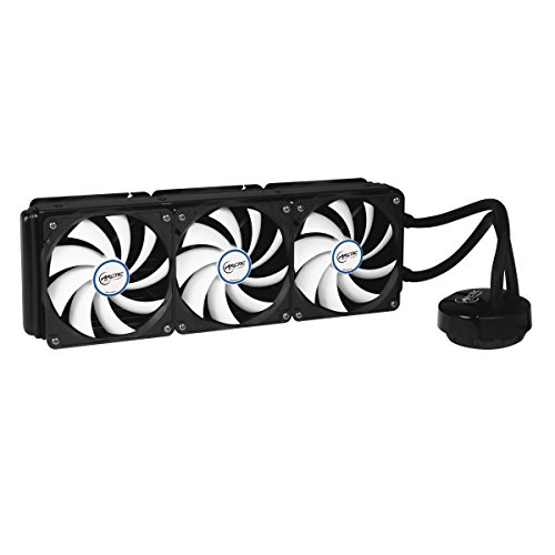 ARCTIC Liquid Freezer 360, High Performance CPU Water Cooler with 6 x 120 mm Low Noise Fans, 394 x120 mm Radiator, MX-4 Thermal Compound included by ARCTIC