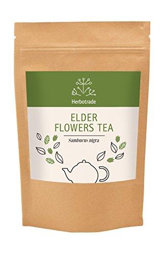 (Elderberry (Sambucus nigra) dried flowers tea (loose) 3 oz / 90gr)