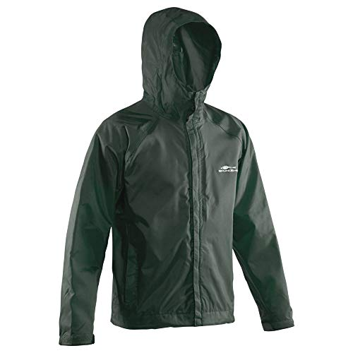 Grundéns Weather Watch Hooded Fishing Jacket, Green - 5X-Large