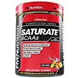 SaturateBCAA - FRUIT PUNCH - Muscle Recovery, Growth and Endurance, Helps Reduce Fatigue, 30 Servings - 2lb container