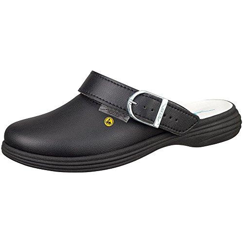 best service 3b4ca facc8 outlet Abeba 37531-38 The Original Plus Chaussures sabot ESD Taille 38 Noir