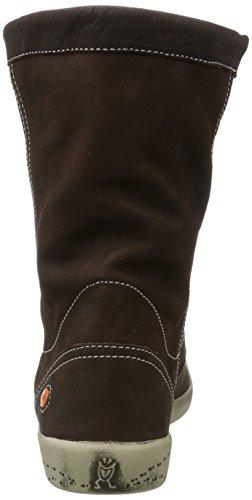 Softinos Iggy269sof Smooth - Botas plisadas Mujer Braun (Dk Brown)
