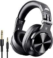OneOdio Bluetooth Kopfhörer Over Ear Geschlossene HiFi Studiokopfhörer mit Share Port, kabelgebundene und kabellose...