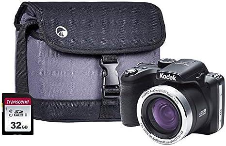 KODAK AZ422-BK - Kit de cámara Digital (32 GBCASE PIXPRO AZ422 ...