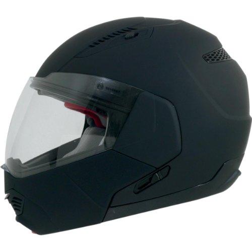 Afx Fx-140 Modular Helmet Flat Black Xl/X-Large