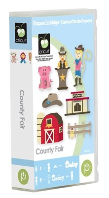 Cricut County Fair Card Making Cartridge