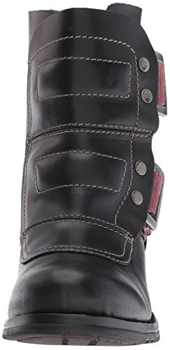 FLY London Womens Seli700fly Engineer Boot Black Rug rQDG4Gowo3