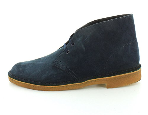 Boot Midnight Desert Clarks Blue Mens 5Sgzwzx