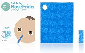 FRIDABABY NOSEFRIDA SNOTSUCKER BABY CONGESTION COLIC COLD NASAL ASPIRATOR FILTER