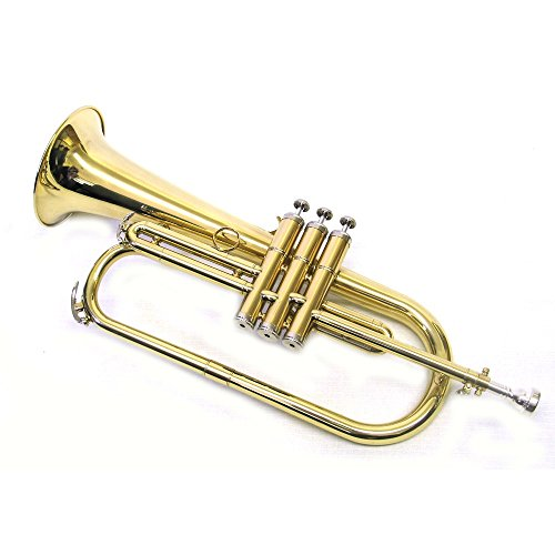 E.F. Durand Bb Brass Flugelhorn with Case and Mouthpiece by E.F. Durand