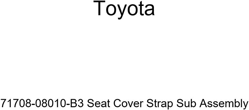 TOYOTA 71708-08010-B3 Seat Cover Strap Sub Assembly