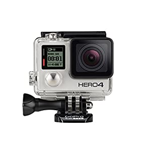 GoPro HERO4 Silver Adventure Actionkamera (12 Megapixel, 41,0 mm x 59,0 mm x...