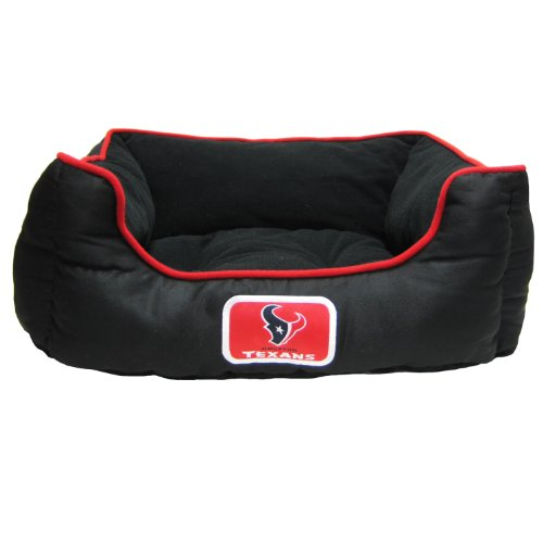 Pets First NFL Houston Texans Pet Bed