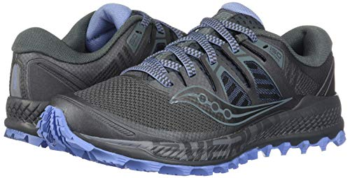 Saucony Women's Peregrine ISO Trail Running Shoe, Gunmetal, 5.5 M US by Saucony (Image #5)