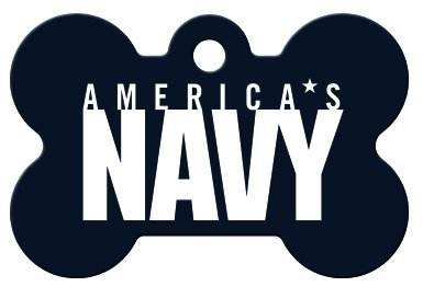d3d6635c99 America's Armed Forces Collection Licensed Personalized Custom Engraved Pet  ID Tags!