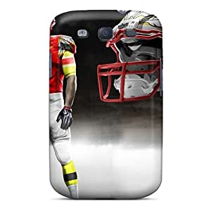 New VLy7815Egld Kansas City Chiefs Skin Case Cover Shatterproof Case For Galaxy S3
