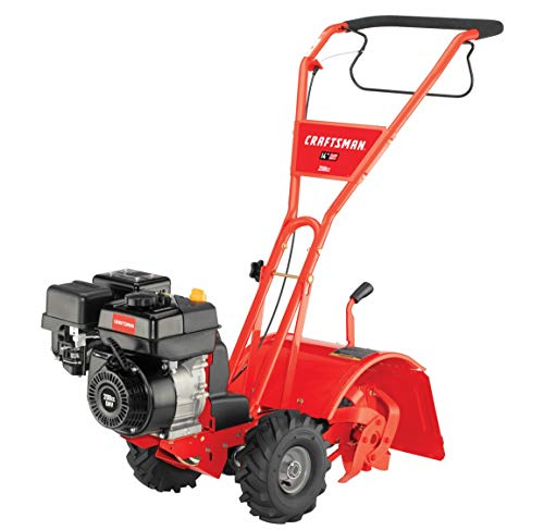 Craftsman Bronco 208cc 10-Inch Gas Powered Rear Counter Rotating Tine ()