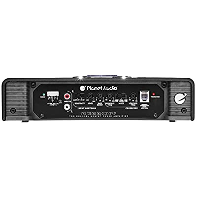 Planet Audio AC2000.2 2 Channel Car Amplifier - 2000 Watts, Full Range, Class A-B, 2-4 Ohm Stable, Mosfet Power Supply, Bridgeable: Car Electronics