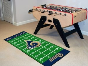 Fanmats Home Indoor sports Team Logo St Louis Rams Runner Mat - Runner Nfl Mat