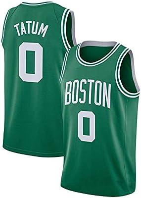Hanbao NBA Boston Celtics 0# Tatum Camiseta de Jugador de ...