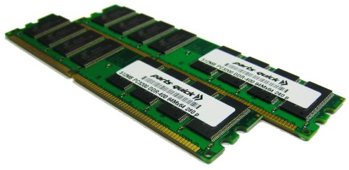 1GB 2 X 512MB PC3200 400MHz 184 pin DDR SDRAM Non-ECC DIMM Desktop Memory RAM for Dell Dimension 4600 (PARTS-QUICK BRAND)