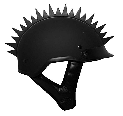 Amazon.com: Casco para moto Mohawk Desigual Spikes: Sports ...