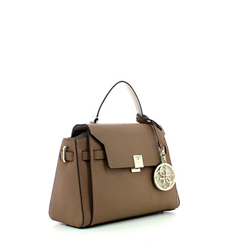 Bag Guess Handle Flap Christy Top Mocha nrwqCrYt1