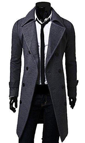 Juniors Long Twill Jacket - 3