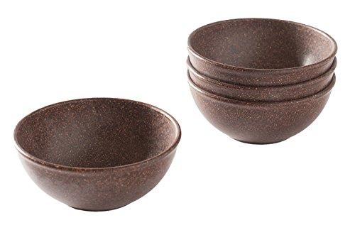 EVO Sustainable Goods 16 oz. Bowl Set, Dark Brown by EVO Sustainable Goods (Image #2)