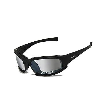 0958436c4f EnzoDate Daisy X7 Gafas de sol polarizadas fotocromáticas del ejército de  la transición, anteojos tácticos