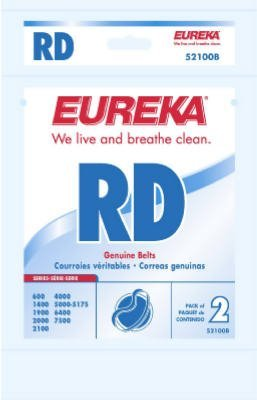 Genuine Eureka RD Style Belts, Pack of 12 ()