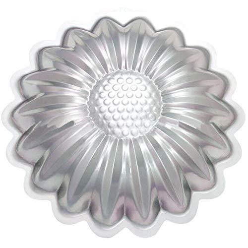SYHL Sun flower Cake Pan, Kids 3D Birthday Cake Pan, Aluminum Alloy Cake Molds Nonstick Baking Tools.
