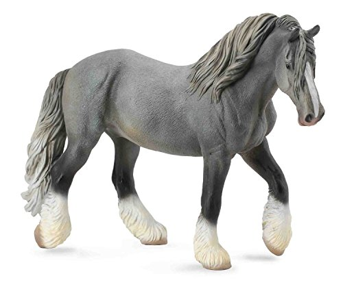 CollectA Shire Horse Mare, Grey