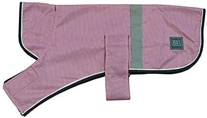 ZEEZ Dapper Dog Coat Size 18 (46cm), Candy Pink