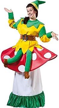 DISBACANAL Disfraz de Duende sobre Seta - -, XL: Amazon.es ...