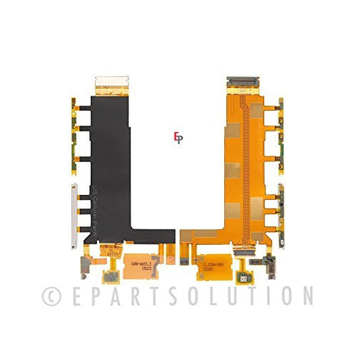 ePartSolution-Sony Xperia Z3 D6653 D6603 D6616 Camera Power Switch Volume Button Flex Cable Repair Part USA Seller