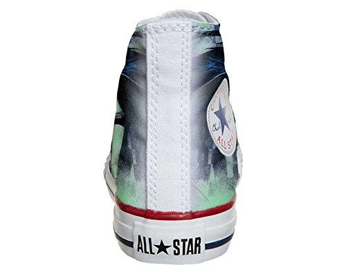 Scarpe Converse All Star personalizzate (scarpe artigianali) Sexy Dark