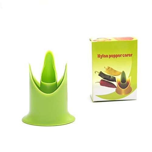 Show Astra shop 2PC Pepper Corers Twist to Core & Seed Bell & Chili price