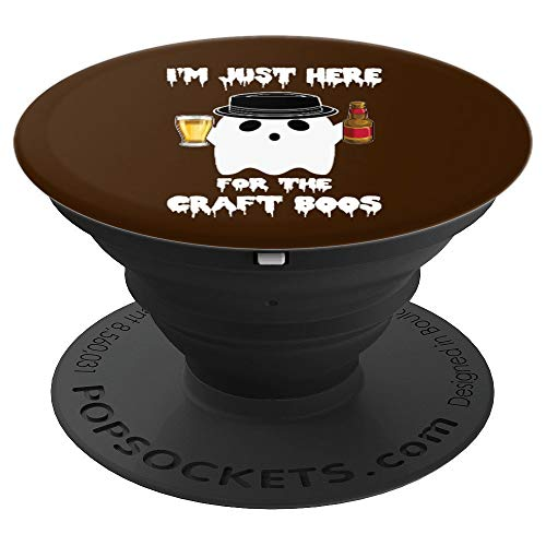 Brewery Craft Beer Home Brewer Halloween Ghost Phone Grip - PopSockets Grip and Stand for Phones and Tablets