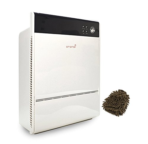 Oransi Max HEPA Large Room Air Purifier, OVHM80 V-HEPA (Complete Set) w/ Bonus: Premium Microfiber Cleaner Bundle by Oransi