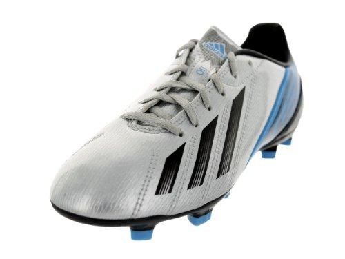 Adidas Kids F10 Trx FG J Metsil/Black1/Joyblu Soccer Cleat 4