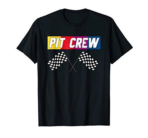 PIT CREW Race Car T Shirt - Hosting Parties T-Shirt