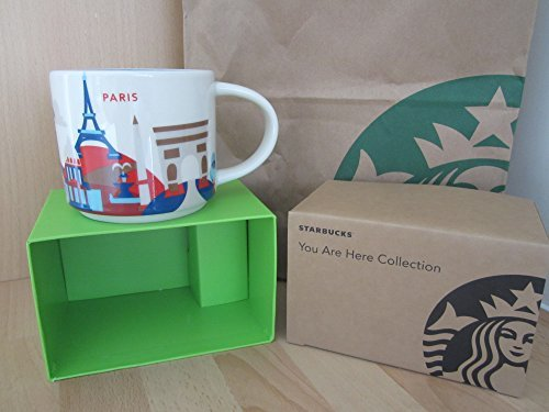 De Paris Mugs - Starbucks Paris You Are Here YAH Coffee Mug