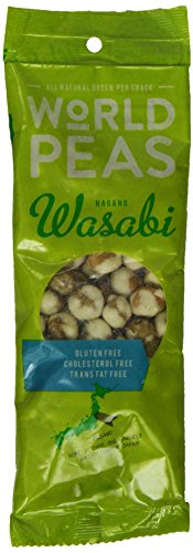 World Peas Nagano Wasabi Green Pea Snack, 1.5 Ounce (Pack of 12) by World Peas