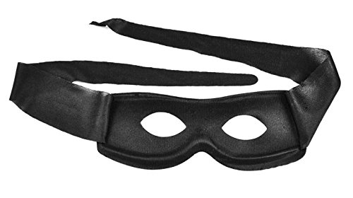 (Toppers Mens Womens Cosplay Halloween Costume Zorro Mask Superhero)