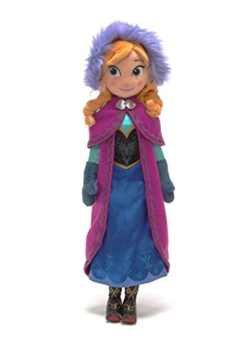 Disney Store Anna Plush Doll - Frozen - Medium - 20'' (Disney Frozen Bean Sven Plush)