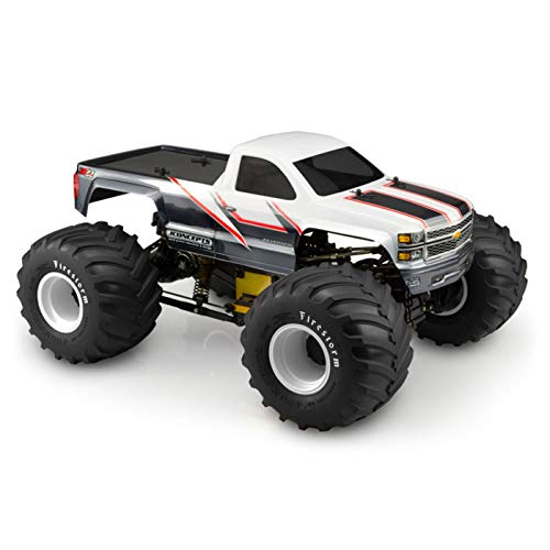J Concepts Inc. Single Cab Clear Body: 2014 Chevy 1500 Monster Truck, JCO0372