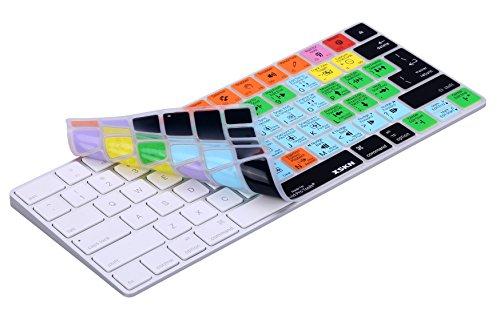 XSKN Magic Keyboard Avid Pro Tools Shortcut Keyboard Cover, Durable Avid Hotkeys Silicone Keyboard Skin for Apple Magic Keyboard MLA22LL/A by XSKN (Image #4)