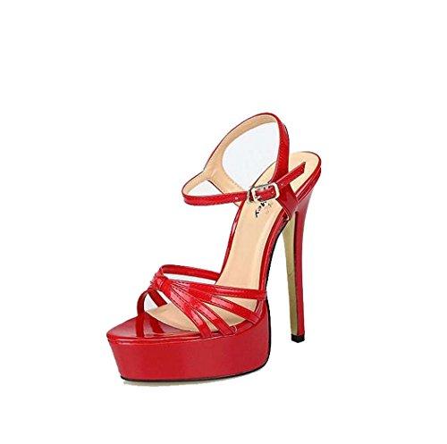 de para Tac Mujer Zapatos Plataformas Sandalias Discotecas X7dwx8