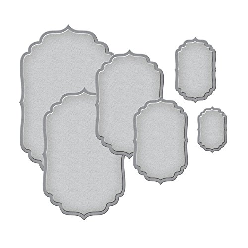 Spellbinders S4-190 Nestabilities Labels Four Etched/Wafer Thin Dies